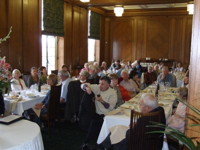 Lunch in the Members Dining Room